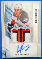 2015-16 Upper Deck Premier #93 Nick Ritchie 3-Color Jersey AUTO RC /375