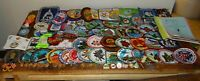 Huge Lot of Volkssport Volksmarch AVA Patches, Pins Medals & Pamphlets