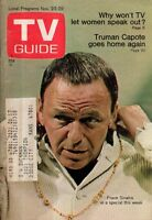 1968 TV Guide November 23 - Frank Sinatra; Here's Lucy; Truman Capote comes home