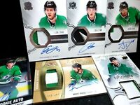 UPPER DECK THE CUP ROOKIE AUTO PATCH /249 Denis Gurianov HUGE DALLAS STARS LOT 6