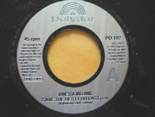VANESSA WILLIAMS = SAVE THE BEST FOR LAST / 2 OF A KIND - 1991 EXCELLENT VINYL