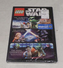 LEGO STAR WARS DVD (PADAWAN MENACE/THE EMPIRE STRIKES OUT/THE YODA CHRONICLES)