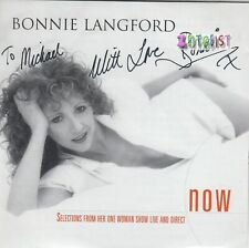 Bonnie Langford Now (Selections From One Woman Show Live And Direct) autograph