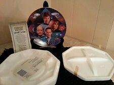 Starfleet Doctors, Collector's Plate, Star Trek 30 years, Hamilton Collection