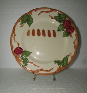 Franciscan Gladding McBean Apple Test Glaze Plate A Rare Find!!