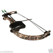 """Kids """"little Hunter"""" 15lbs Camo Compound Bow and Arrow Archery Target"""