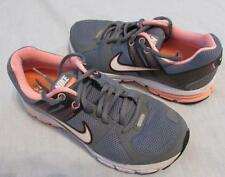 NIKE womens 6.5 gray coral Zoom Structure +15 Flywire running athletic shoes