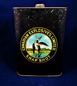 SNAP SHOT - Canadian Explosives Limited  CXL Gunpowder Tin
