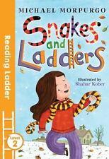 SNAKES AND LADDERS - MORPURGO, MICHAEL/ KOBER, SHAHAR (ILT) - NEW PAPERBACK BOOK