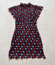 Sandro LACE STAR DRESS Size 1 US XS