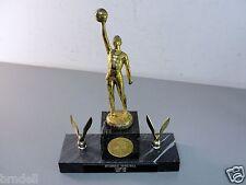US FLEET YOKOSUKA JAPAN BASKETBALL CHAMPION MARBLE TROPHY MILITARY NAVY 1965 VTG