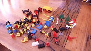 lego vintage pieces retro bulk lot 50+