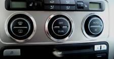 D VW Passat 3C Chrom Gebläseschalterringe Alu poliert