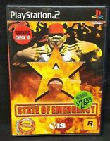 State of Emergency  -  PS2 Playstation 2 Game Tested Working Complete
