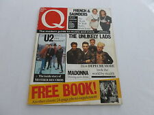 Q Magazine 31 [Apr 89] Andrew Neil, U2, Depeche Mode, French & Saunders, Madonna