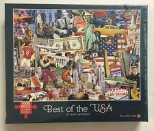 Best of the USA 1000 Jigsaw Puzzle