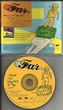 FAR what I've wanted to say ULTRA RARE 1996 USA PROMO Radio DJ CD Single ESK8161