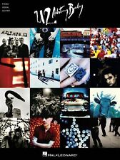 U2 Achtung Baby Learn to Play Mysterious Ways Rock Piano Guitar Music Book