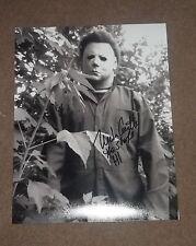 nick castle halloween signed michael myers 11X14 PHOTO w/ COA