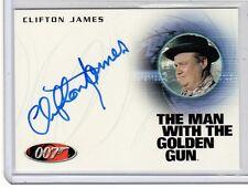 James Bond 50th Anniversary series 2 Clifton James auto card