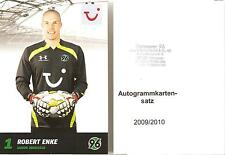 Hannover 96 AK Set 2009/10 incl. Robert Enke