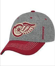 2014 Winter Classic Detroit Red Wings NHL Hockey Flex Fit Hat Cap Reebok S/M