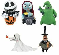 Disney Nightmare Before Christmas animated plush set Jack Sally Zero oogie mayor