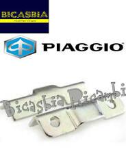 252420 - ORIGINALE PIAGGIO PIASTRINA CHIUSURA BAULETTO VESPA 50 125 150 LX LXV