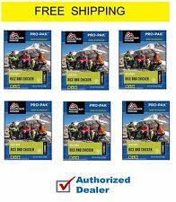 6 - Mountain House Freeze Dried Food Pouches - Rice & Chicken  Pro-Pak