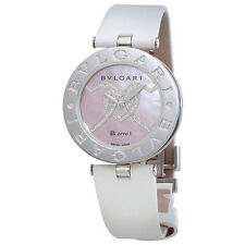 Bvlgari B.zero1 Pink Mother Of Pearl With Heart Motif Dial Quartz Ladies Watch