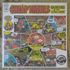 BIG BROTHER & HOLDING COMPANY JANIS JOPLIN Cheap Thrills VG Vinyl LP, KCS 9700