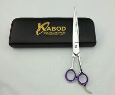 """Grooming Shears / Scissors 8.5"""" Straight Razor Edge Sharp 440c Stainless Steel"""