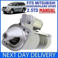 *MANUAL* Mitsubishi Shogun/Pajero Sport 2.5 TD DIESEL '99-2006 NEW STARTER MOTOR