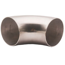 "3.5"" Ultra Tight Radius Mandrel Bend 90 Degree Stainless Steel 0.84D Exhaust pip"