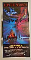 1984 Star Trek III: The Search for Spock POSTER INSERT 27 X 13 ORIGINAL