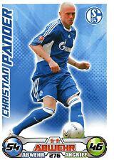 276 Christian Pander - FC Schalke 04 - TOPPS Match Attax 2009/2010