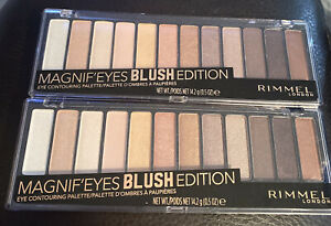 2 Rimmel Magnif'eyes Blush Edition Eye Contouring Palette 002.   O