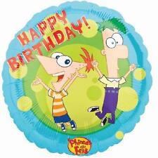 PHINEAS AND FERB BIRTHDAY 18IN FOIL Balloon free P & P UK