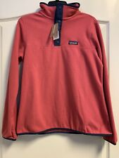 NEW W TAGS - Women's Patagonia Micro Snap Fleece - Reef Pink - XS - MSRP $89