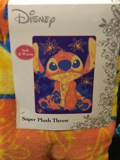 LILO AND STITCH Super Plush Throw. Brand New. 46 Inches X 60 Inches