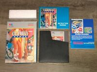 California Games Nintendo Nes Complete CIB Very Good Condition Authentic