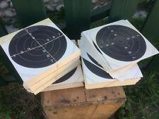 Lot environ 600 anciennes cible de tir sur papier cartonné old targets