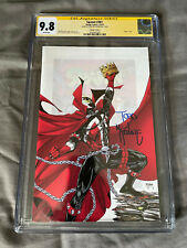 CGC SS 9.8 Spawn #301 1:25 Virgin Variant Signed by Todd McFarlane - 2019
