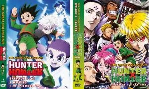 ANIME DVD~ENGLISH DUBBED~HUNTER X HUNTER SEA 1-2 VOL.1-210 END +2 MOVIE + 30 OVA