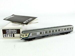 Märklin Spur-Z 8718 Steuerwagen BDnf 735 Silberling, 2. Version ⚠️Kontaktproblem