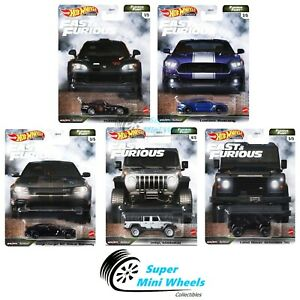 Hot Wheels 2021 Fast & Furious Furious Fleet N Case Set of 5 Cars [Pre-Order]