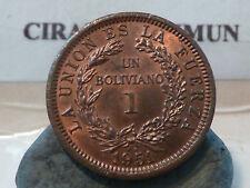 CIRA(26)(8) - BOLIVIE - 1 BOLIVIANO - 1951 - RARE QUALITE SPL/FDC !