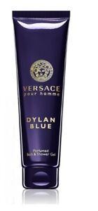 Versace Pour Homme DYLAN BLUE Bath & Shower Gel MEN Cologne Scent 5oz 150ml NeW