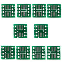 50Pcs SOP8/SSOP8/TSSOP8/SMD To DIP8 Adapter 0.65/1.27mm Z9O9 DIY Board PCB T9Y7