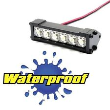 Gear Head RC 1/10 Scale Six Shooter Water Proof LED Light Bar - White GEA1149